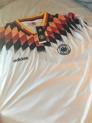 West Germany 1994 Retro Home Shirt Small Deutschland World Cup Amazing Quality