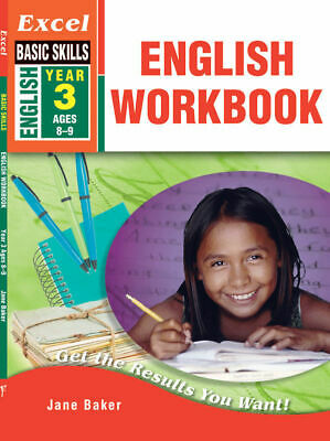 Excel Basic Skills - English Workbook Year 3 NEW Pascal Press 9781741251562