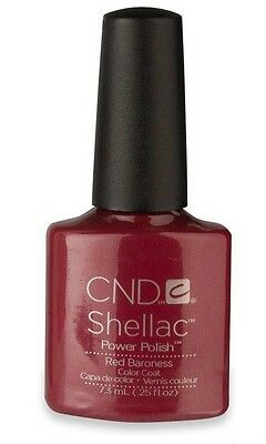 CND Shellac Red Baroness 7,3 ml Made in USA Top Qualität