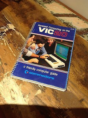 Personal Computing On The Vic-20 Commodore Computer Vintage Retro Book