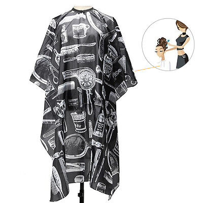 Salon Hairdressing Gown Fabric Cloth Cape Wrap for Barber Hairstylist Hair Cut