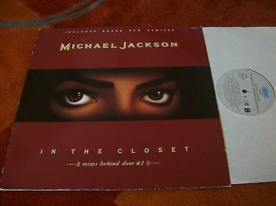 "MICHAEL JACKSON - in the closet 12"" single...1991"