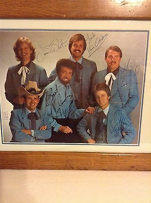 Sonny James And Southern Gentleman Band with original Written Autographs