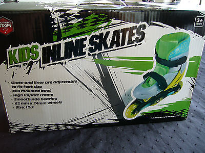 Brand New! Southern Star Kids Inline Skates Size 12 - 2,  3 + Years Fast Postage