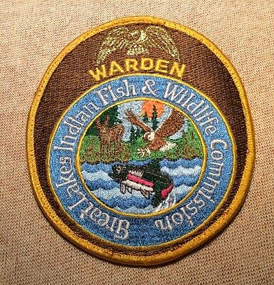 WI Great Lakes Indian Fish & Wildlife Commission Wisconsin Warden Patch