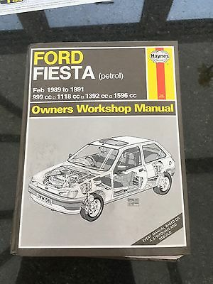 Ford Fiesta Feb 1989-1991 Workshop Manual