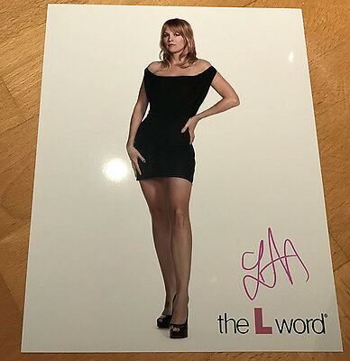 LAUREL HOLLOMAN Tina Kennard THE L WORD Signed 8x10