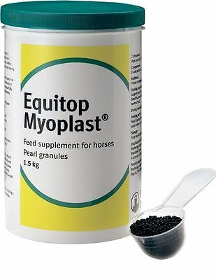 Equitop Myoplast Muscle Growth Recovery Supplement for Horses x 1.5kg