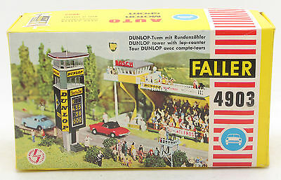 Faller Auto Motor Sport Ams 4903 Dunlop Tower With Lap Counter (T8)