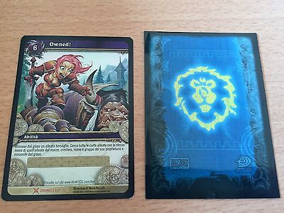 Wow Owned! Nuova - Loot Card Unscratched - Carta Riscattabile World Of Warcraft