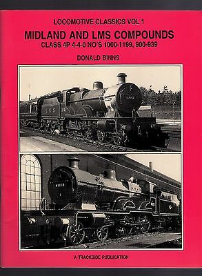 Book - Locomotive Classics 1: Midland and LMS Compounds - Binns: Trackside 1996