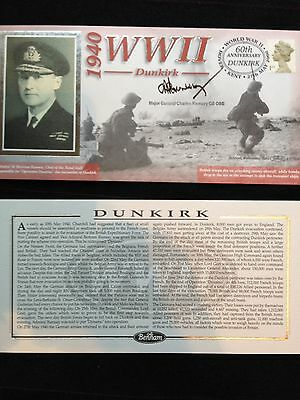 Benham Signed First Day Cover - 1940 WWII Dunkirk