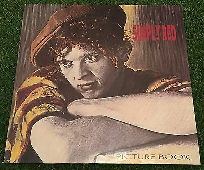 SIMPLY RED Picture Book 1985 UK Vinyl LP