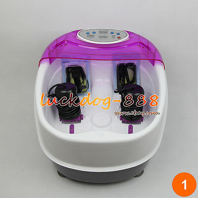 Premium Tub Detox Ionic Foot Bath Cell Cleanse Spa Machine 2 Arrays * CE Approve