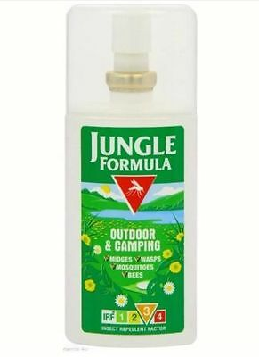 Jungle Formula Outdoor and Camping Insect Repellent Spray Medium Protection 75ml