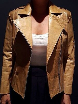 Women's Leather Jacket Motorcycle - New. Tailor Made