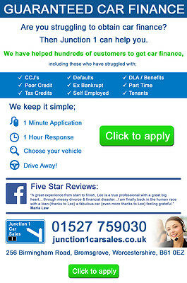Guaranteed Car Finance Bad Credit No Voters Roll + Working + Benefits + Dla/pip