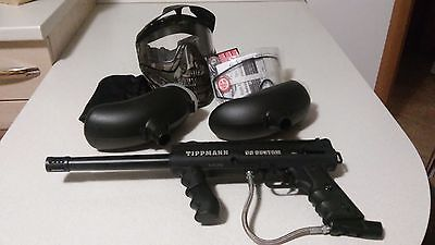 Tippmann 98 Custom PS ACT- Paintball - Marcatore + maschera + lenti sostit.