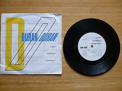"Duran Duran - Is There Something I Should Know?  -  7"" single"