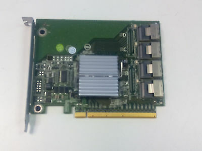 Dell YPNRC 4-Port SAS Expander Card for PCI SSD Drives PowerEdge R720