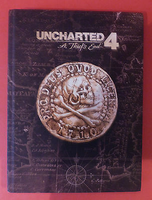 Unchartered 4 * A Thiefs End Collectors Edition Guide * Hardback Book
