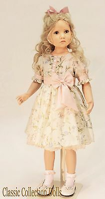 """bettina"" - Special Pricing - Exquisite Collectors Doll By Hildegard Gunzel-New"