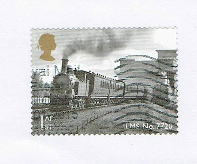 GB Stamps 2014 Classic Loco of Wales Used Self-adhesive Booklet Stamp SG 3634