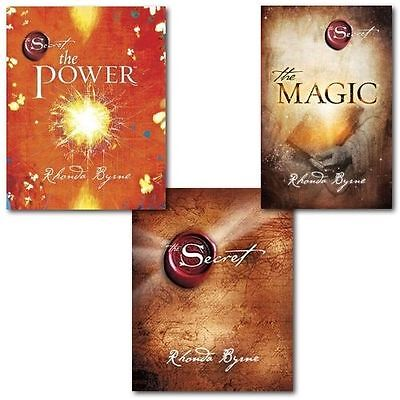 The Secret Series Rhonda Byrne 3 Books Set-The Secret, The Power & The Magic