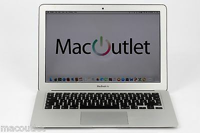 "Pre-owned Apple Macbook Air 13"" A1466 1.7 GHz i5 128GB SSD 4GB mid 2012 Grade B"