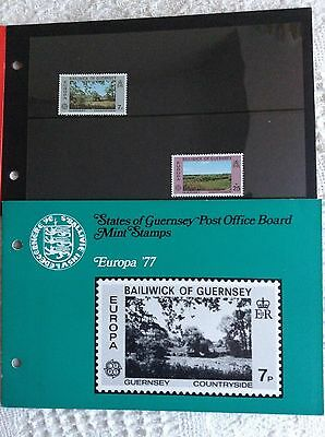 Guernsey Stamps Europa '77