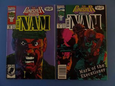 The Punisher Invades The 'nam 52, 53 Story Set!