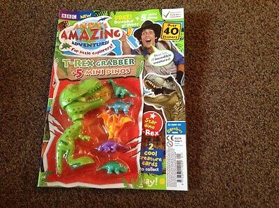 CBeebies Magazine Andys amazing adventures issue 1  new