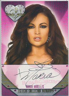 Maria Kanellis  * 2014 Benchwarmer Eclectic * Autograph *  Playboy  * Hot !