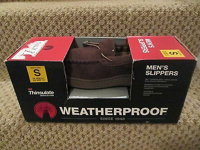 Slippers Weatherproof Thinsulate Memory Foam Small, UK 6/7, New & In Box