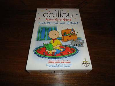 Caillou Storytime Game 72 Picture Discs 2003