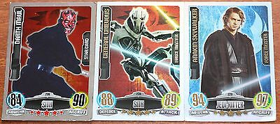 Star Wars Force Attax Movie Card Serie 1: Force Meister Anakin, General Grievous