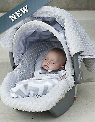 Carseat Canopy Caboodle Infant Car Seat Canopy Cover 5 piece Set Covers Chevy