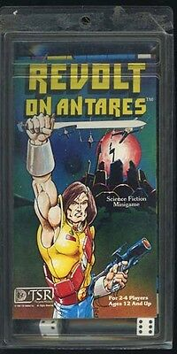 REVOLT ON ANTARES MINIGAME VF! UNCUT Counters Set TSR Science Fiction Module