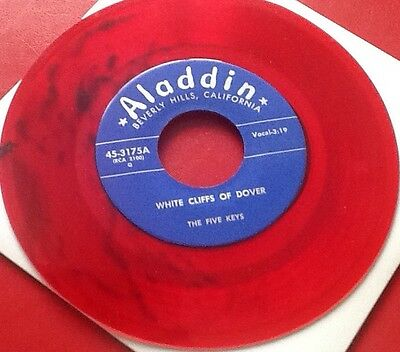 Five Keys - White Cliffs Of Dover (Red Wax)