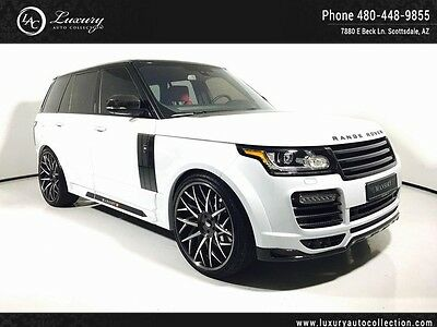 2016 Land Rover Range Rover  Full Mansory Body Kit 24 Forgiato Wheels One Of A Kind