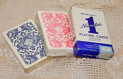 Joblot Vintage Playing Cards 1962 1979 New Old Stock Sealed