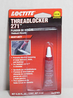 Loctite Henkel 37421 - ThreadLocker 271 Red Heavy Duty 6ml