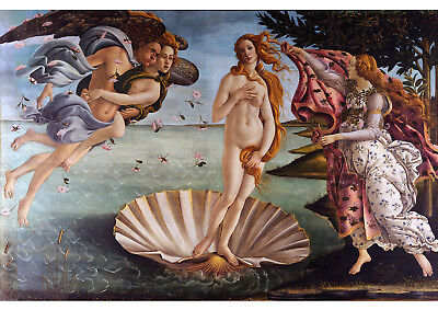 Art print POSTER/Canvas Sandro Botticelli The Birth of Venus