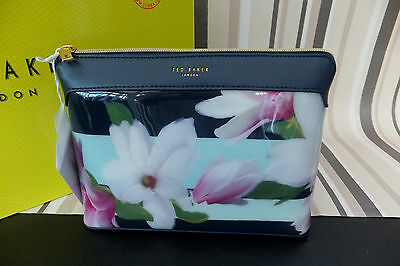 Ted Baker Genuine JERREL Magnolia Stripe XLarge Make Up wash Bag BNWT