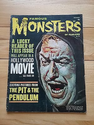 FAMOUS MONSTERS OF FILMLAND magazine issue 14