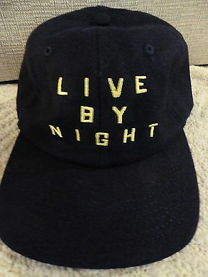 Live By Night Hat Adult Size  Brand New Authentic Studio Movie Promo