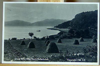 Vintage RP postcard Creag Mhor from N Ballachulish Scotland copyright J.M.210
