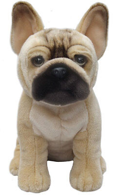 """French Bulldog  12"""" Faithful Friends Soft Toy New Buy Now Beat Price Rise"""