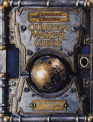 Dungeons and Dragons Dungeon Masters Guide 3.5