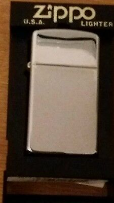 ZIPPO CHROME LIGHTER boxed